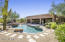 Private backyard retreat with refreshing pool