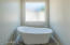 Fabulous soaking tub.