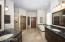 Spectacular master bath with double sinks, granite, separate tub and walk in shower