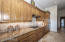 An abundance of custom cabinets in this kitchen