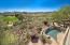 Overlooking the pool, golf course and stunning Sonoran desert!