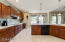 Beautiful Staggered- Cherry Wood Cabinets