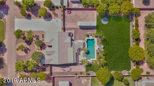 Aerial Shot of Property
