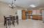 Nice size kitchen with plenty of room for a good sized kitchenette