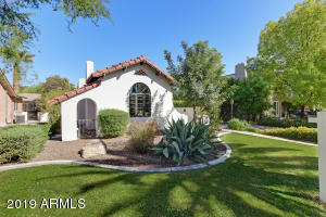 Great curb appeal on this Spanish Colonial.