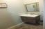 Guest hallway half bath.
