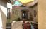 Enter your home through this welcoming courtyard.