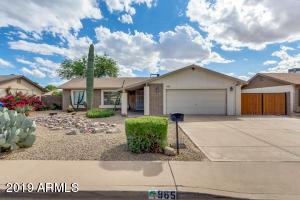 965 W MANHATTON Drive, Tempe, AZ 85282