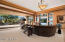 Artisan Chandelier / Coffered Ceilings