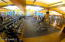 free weights & machines within work out center