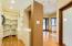 View into Master Closet #1 & Office/Den Entry