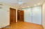 Master Bedroom #2 w/Recessed Lighting & Hardwood Doors (Glass Doored Wall is Huge Closet)