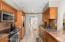 Kitchen directly adjacent to Formal Dining