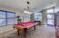 Formal Living Room/Dining room used as a Game Room