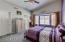 Master Bedroom , light & bright Bay Window