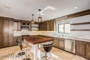 Kitchen with modern design.