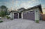 Single story split floor plan in a cul-de-sac. Three car garage, pavered driveway, and front entry courtyard with sheltered space for seating or Amazon deliveries!