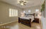 Private Master Suite with Plantation Shutters and no carpet!