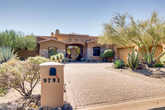 Photo of 9791 E CAVALRY Drive, Scottsdale, AZ 85262