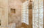 HIGHLY UPGRADED ALL TILE SHOWER * GLASS BLOCK
