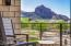 Camelback Mountain views to the south. Retreat balconey from the master bedroom is the perfect perch to watch the sunset and the colors play across Camelback Mountain.