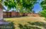 Large grassy backyard