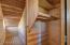 Secret little room/storage area under the stairs.