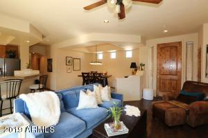 Open Concept Floorplan with each area defined with tray ceilings.