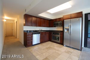 Stainless Steel Appliances, Tile, Granite countertops, Plenty of Cabinet space. Large closet by front door too.