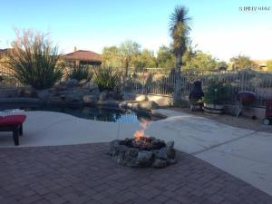 Golf course lot, pool & pavers
