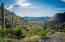 A noted architect has identified 5 or 6 view homesites as you travel up the mountain. This view toward the West is from the property!