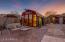 Barn with access to RV area & locked storage behind garage