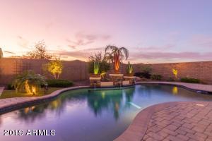 Enjoy the AZ sunsets in your resort backyard. Pool built in 2014, Gazebo 2017, spa 2017