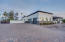 Beautiful driveway with pavers throughout. 3 car garage and RV gate. The HOA allows RV garages to be built with approval.