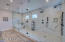 Massive 20x7 master shower with freestanding tub
