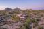 This custom estate enjoys views of the iconic Pinnacle Peak.
