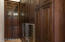 Walk-In Pantry with Wine Refrigerator