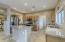New Stainless Steel Appliances, upgraded slab granite & recessed light in kitchen