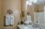 Updated 2nd Bathroom with slab granite & under mount sink