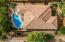 Aerial Overhead of Home