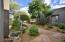 Main Home & Casita share courtyard