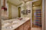 This is a Jack-N-Jill Bath shared between bedrooms 2 & 3