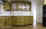 Corian counters, plenty of cabinets.