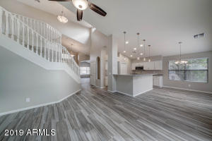 Open Floor Plan, all NEW tile throughout the home