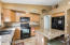Kitchen with Chiseled Granite Tops