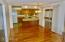 Large kitchen, dining, family room