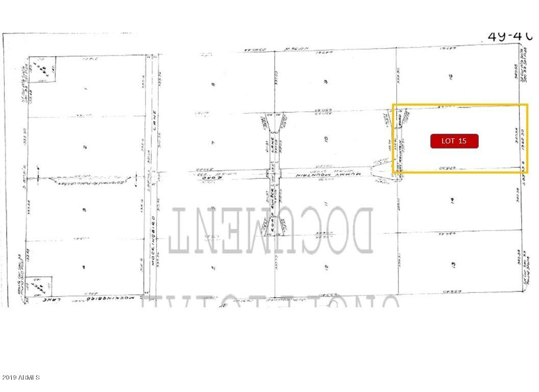 8020 N Mummy Mountain Road Lot 15