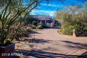 On a very private cul-de-sac with an extensive paver entry and a desert entry, this home is in one of Sincuidados Quietest Locations!