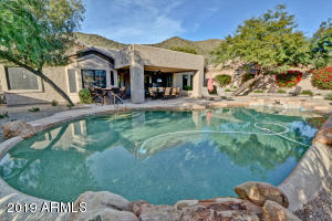 Private, sparkling pool