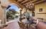 """Entertain and dine """"Al Fresco"""" under this beautiful covered patio."""